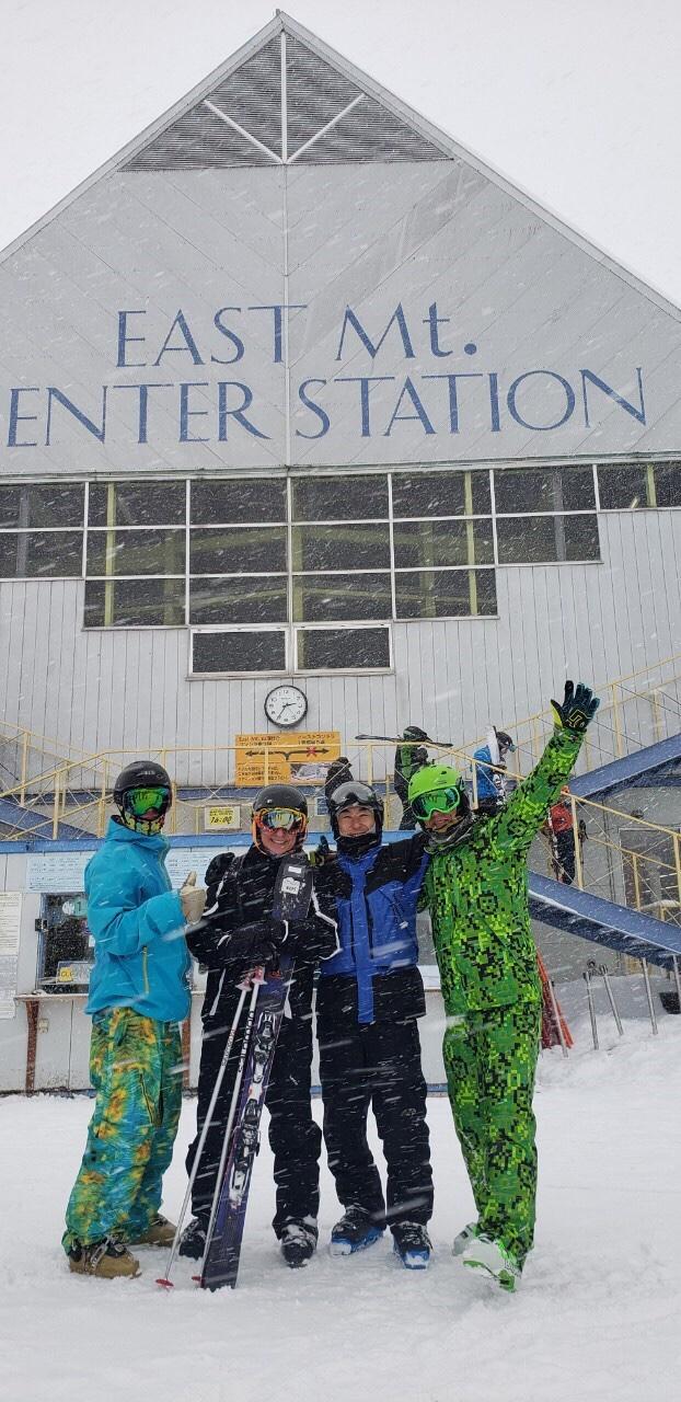 北海道の精鋭、スキーもスゴかった