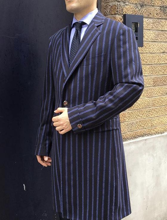 シングルチェスターコート Chesterfield coat single breasted
