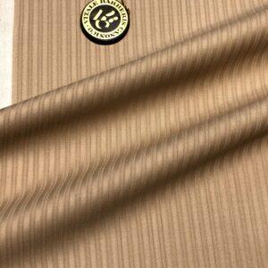 カノニコスーツ:ベージュシャドーストライプ