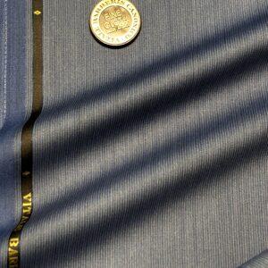 カノニコスーツ:ブルーマイクロストライプ
