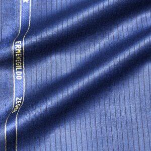 ゼニアスーツ:トロフェオ/ロイヤルブルー/シャドーストライプ