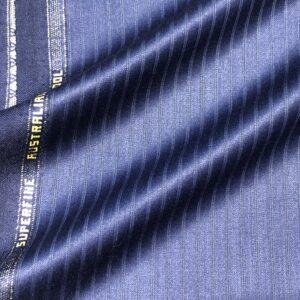 ゼニアスーツ:トロフェオ/シャドーストライプ/ブルー