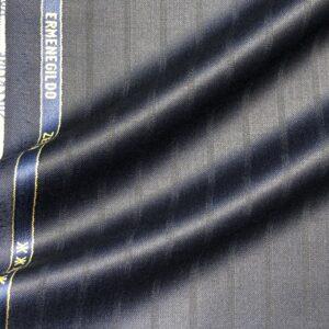 ゼニアスーツ:トロフェオ/シャドーワイドストライプ/ネイビー