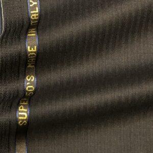 カノニコスーツ:スーパー150'sリベンジ「ブラックヘリンボーン」