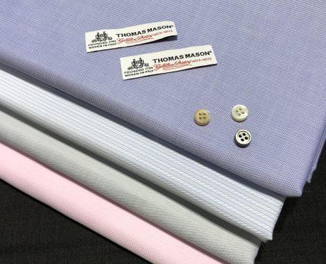 ドレスシャツの定番カラー